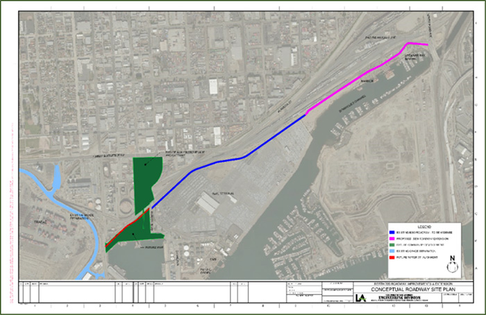 B 200 Roadway Extension