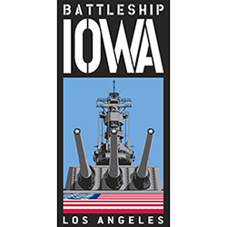 Battleship Iowa logo