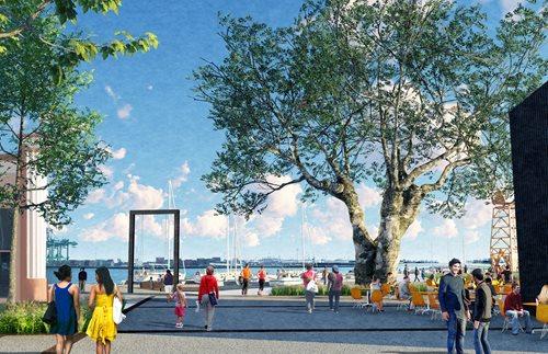 Groundbreaking for San Pedro Promenade and Town Square