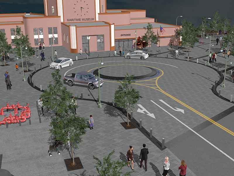 San Pedro Town Square